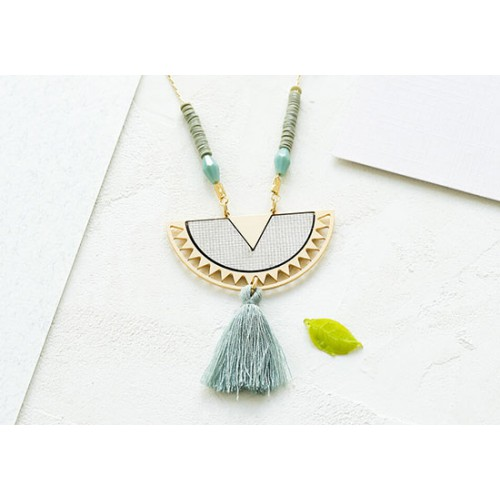 Collier Surinam mint