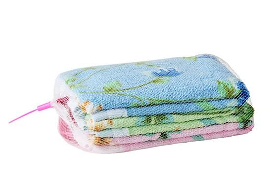 Lot de 3 serviettes invité