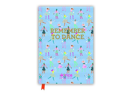 "Cahier A5 ""Remember to dance"""