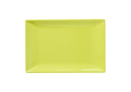 Plateau à sushi jaune