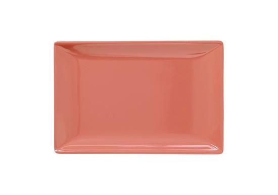 Plateau à sushi rose corail