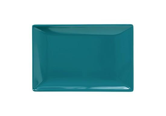 Plateau à sushi bleu canard