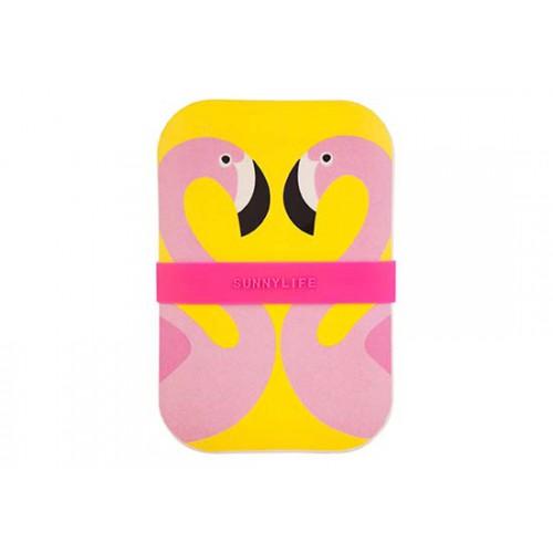 Lunch box Flamingo