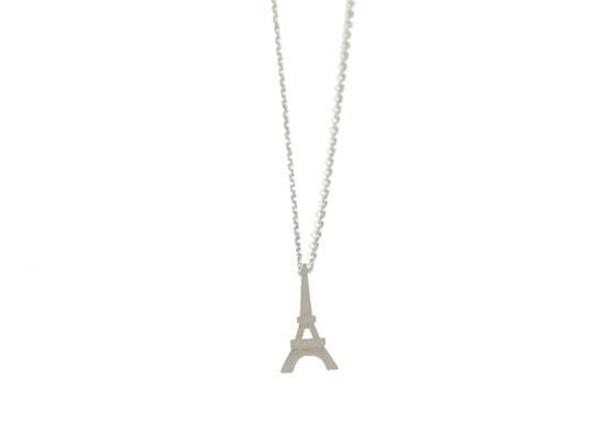 Collier Tour Eiffel doré