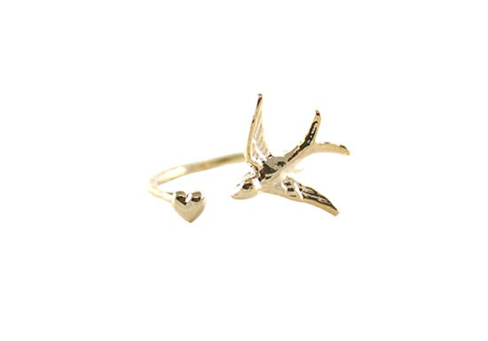 Bague Love swallow