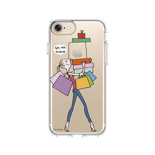 """Coque Soledad iPhone 7 """"SHOPPING"""""""