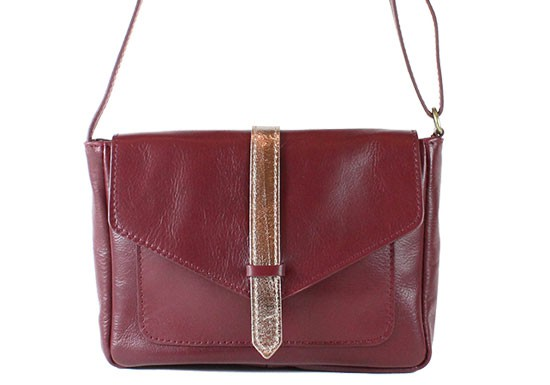 Sac Kate bordeaux