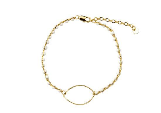 Bracelet Chloë blanc