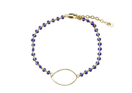 Bracelet Chloë bleu