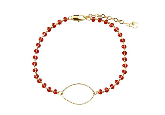 Bracelet Chloë rouge