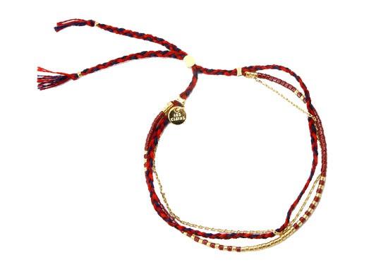 Bracelet Bahia bordeaux