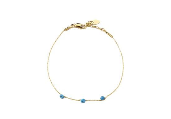 Bracelet stone turquoise