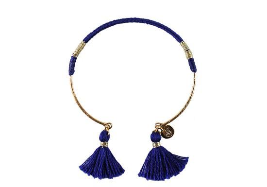 Bracelet Margaux bleu roi
