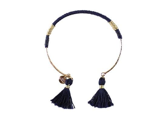 Bracelet Margaux bleu marine
