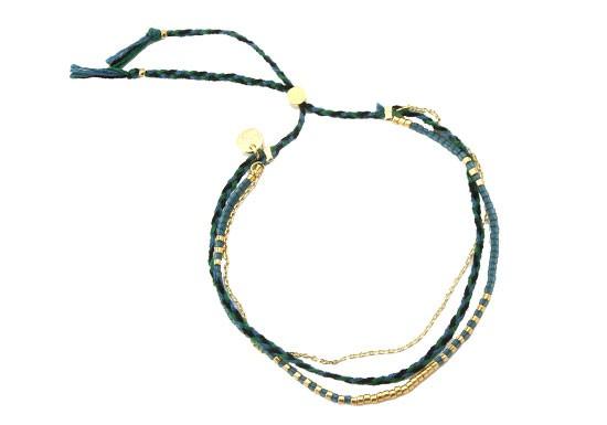 Bracelet Bahia vert