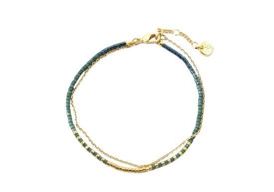 Bracelet Java vert