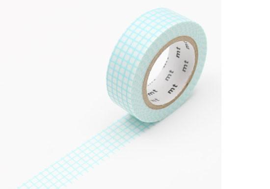 Masking Tape déco - Hougan mint blue