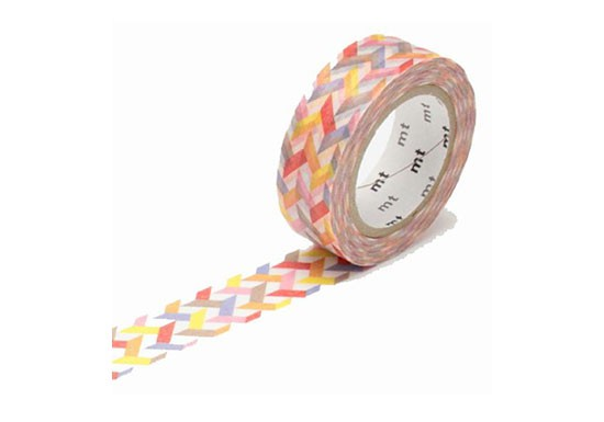 Masking Tape déco - Slash red