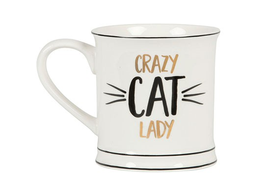 Mug Crazy cat Lady