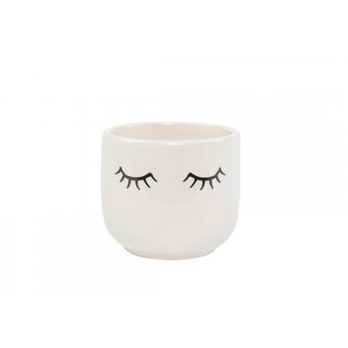 Mini cache pot Eyes shut