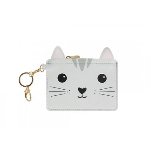 Porte monnaie Kawaii chat