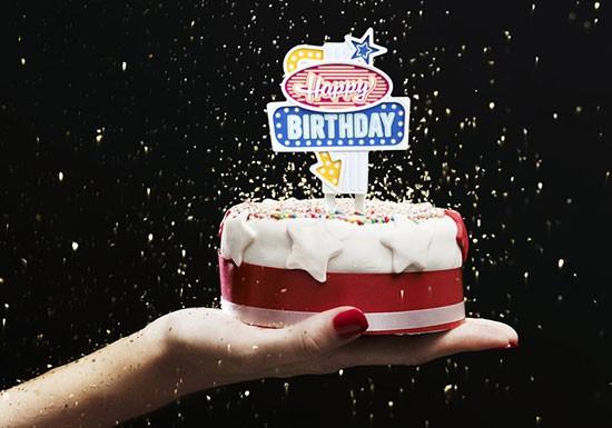 Happy Birthday lumineux