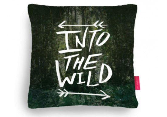 Coussin Into the wild