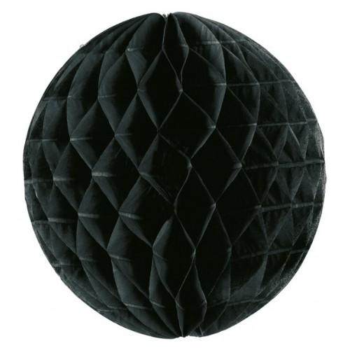Boule papier noire