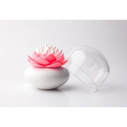 Lotus coton tige rose