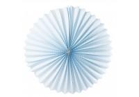 Boule lampion bleu
