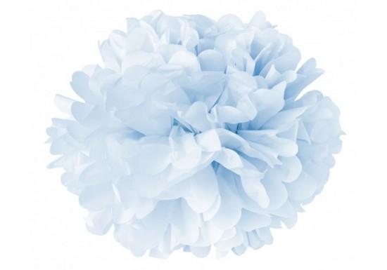 Mini fleur papier bleu
