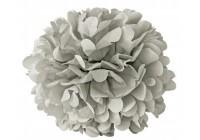 Mini fleur papier gris
