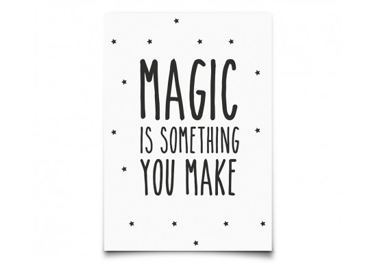 Carte Postale Magic