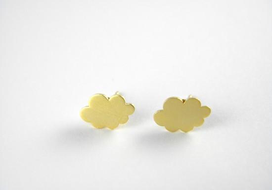 Boucles d'oreilles coccinelle jaune