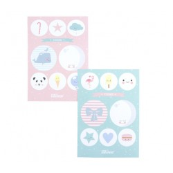 Planches Stickers Lot de 2