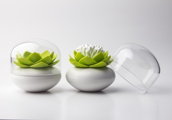 Lotus coton tige vert