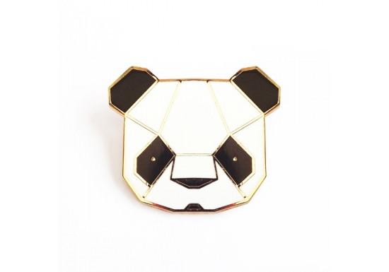 Broche émaillée Panda