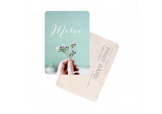 Carte postale Flowers and mint