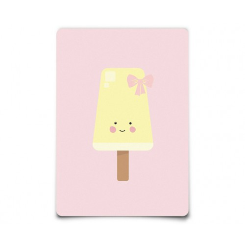 Carte Postale Miss Popsicle