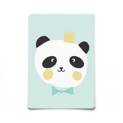Carte Postale King panda