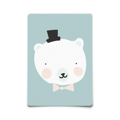 Carte Postale Mister Polar