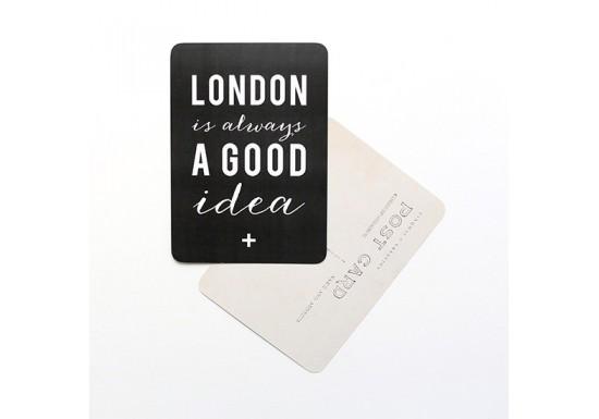 Carte postale London is always a good idea - ardoise