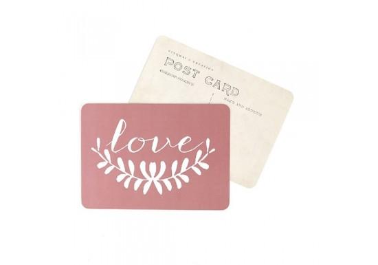 Carte postale Love Anna - blush
