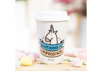 Tasse take away Nothing is impossible