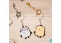 Porte-clés duo amoureux