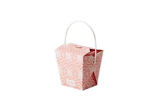 6 petites boîtes à emporter chinese box