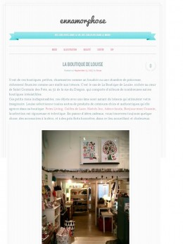 Blog Enamorphose