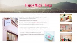 Blog Happy magic things