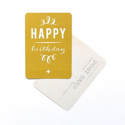 Carte postale Happy Birthday /Anna or