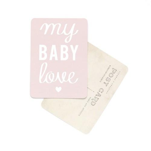 Carte postale My baby love / Mona - rose